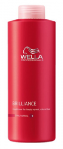 Wella Brilliance Fine/Normal Conditioner 1ltr